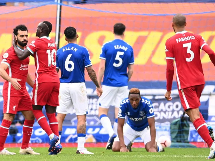 Premier League: Liverpool Held To 2-2 Draw Against Everton After Late VAR Drama