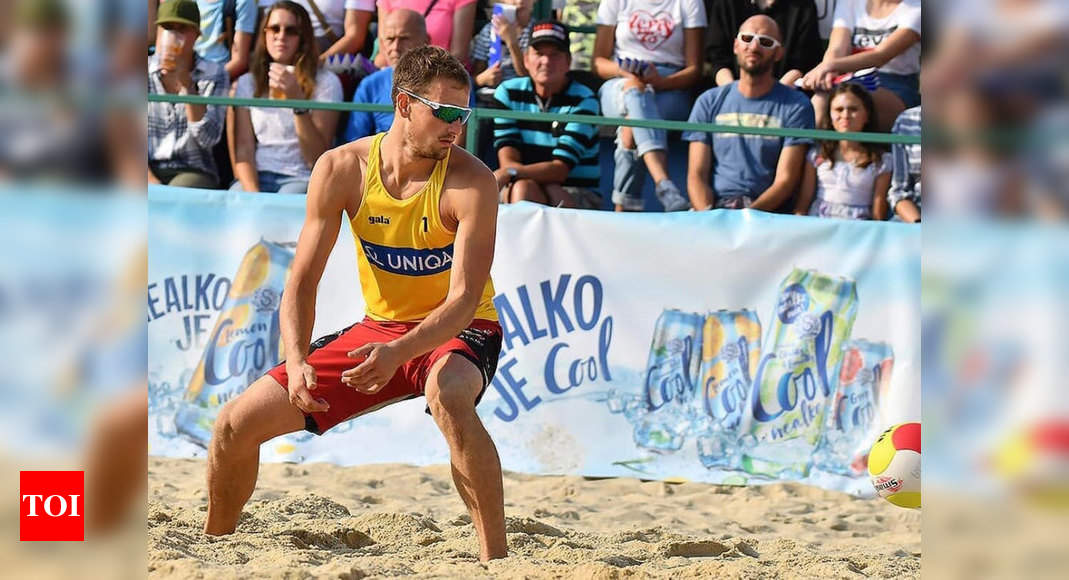 Czech beach volleyball player tests positive in Olympic Village | Tokyo Olympics News