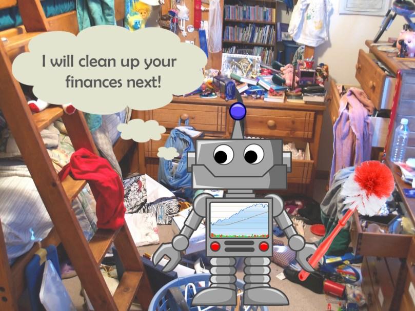 messy robot