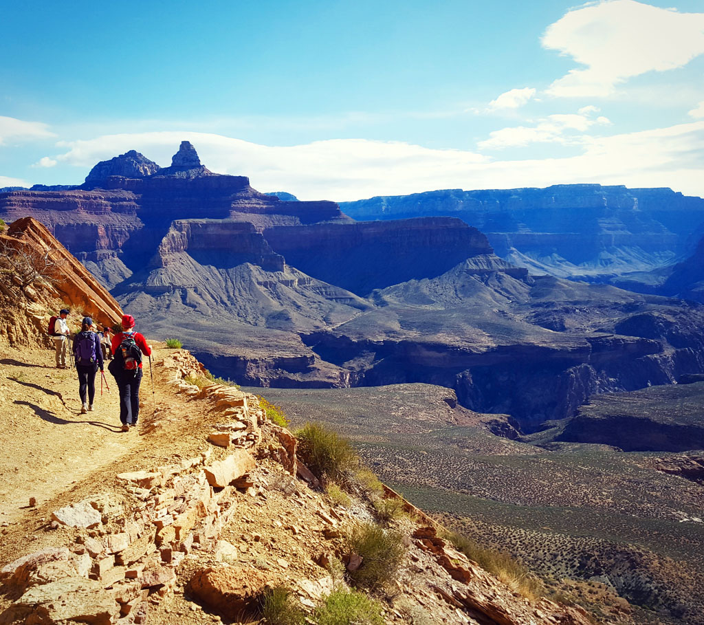 Views from the South Kaibab Trail