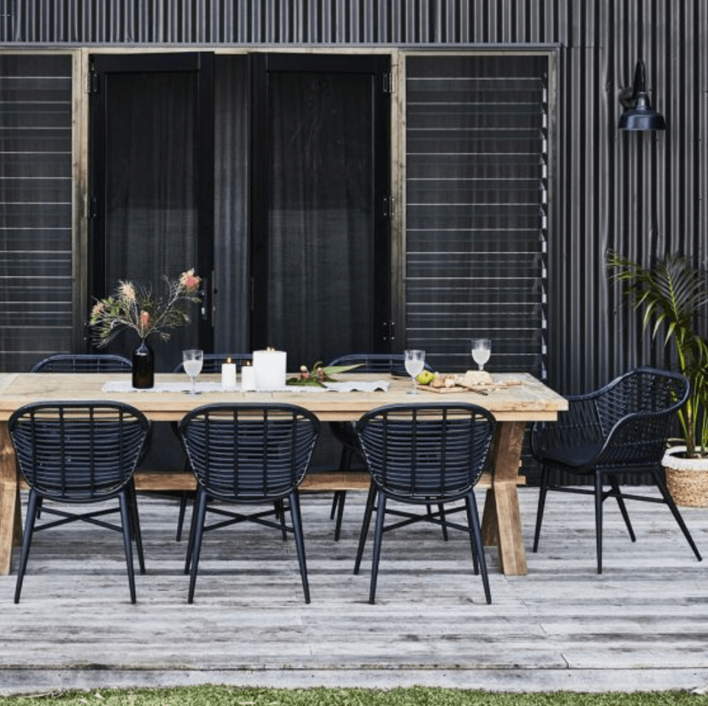 Dress up your deck with the reclaimed teak