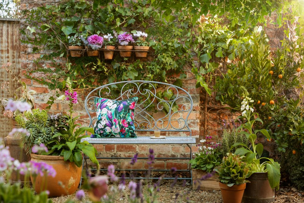 Turn your terrace into a French courtyard garden with the Lucien