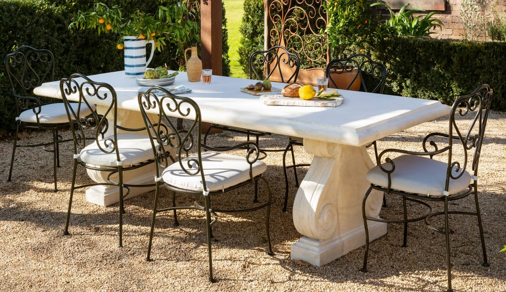 Turn your terrace into a French courtyard garden
