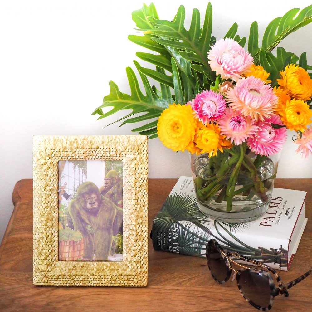Get the 'Tropical Vibe' in your home with the resin photo frame