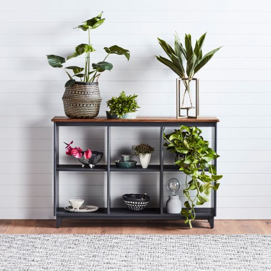 How to style your shelf like a stylist with the Maine