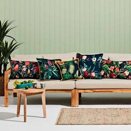 Outdoor Furniture Trends of 2021 with cushions