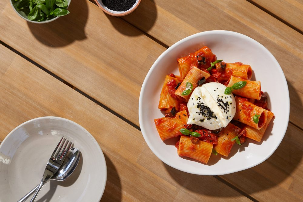 Chef Laura Sharrad's Scrumptious Summer Recipes with paccheri pasta