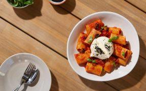 Chef Laura Sharrad's Scrumptious Summer Recipes with paccheri pasta