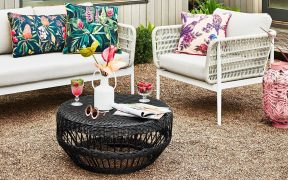 Outdoor Furniture Decorating Ideas by Interior Designer Chris Carroll