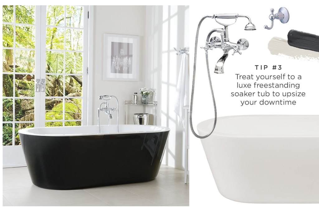 5 tips for creating a blissful bathroom 3