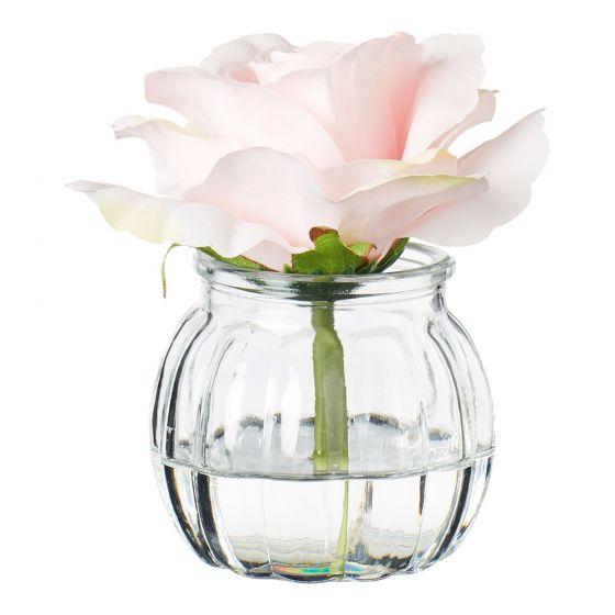 kids bedroom makeover with De Fleurs Rose in Water Pink
