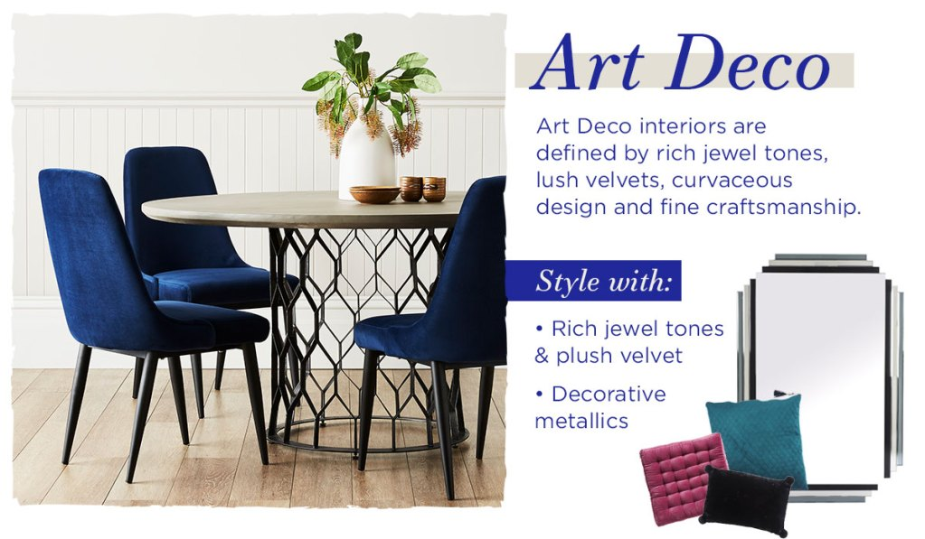 Delicious Dining Room Styling Inspiration art deco