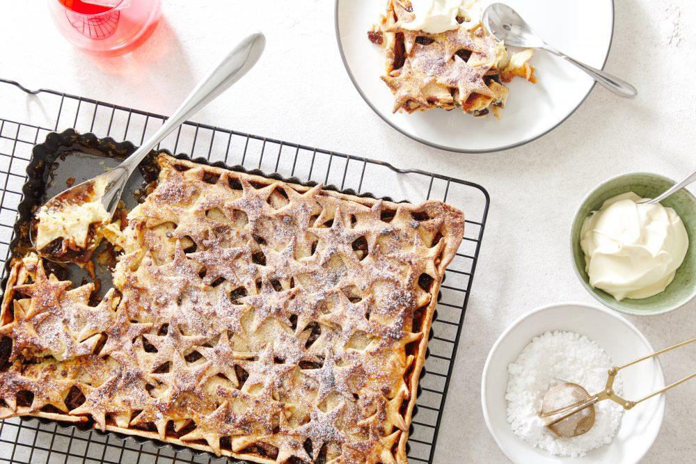 Christmas Recipes from Chef Laura Sharrad fruit mince tart