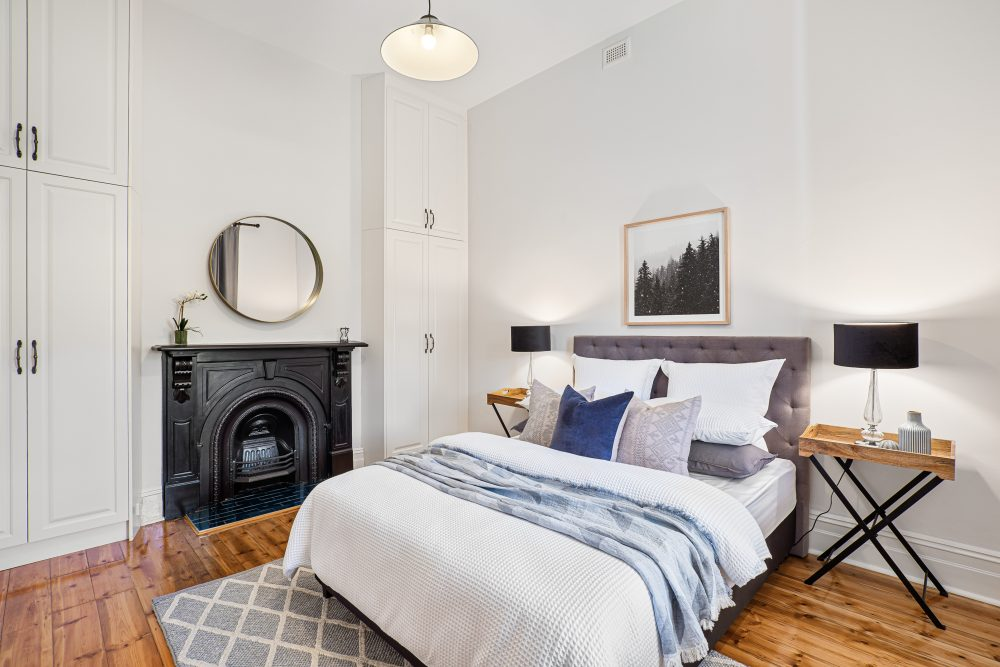 Update Your Period Home Without Losing its Charm in the bedroom