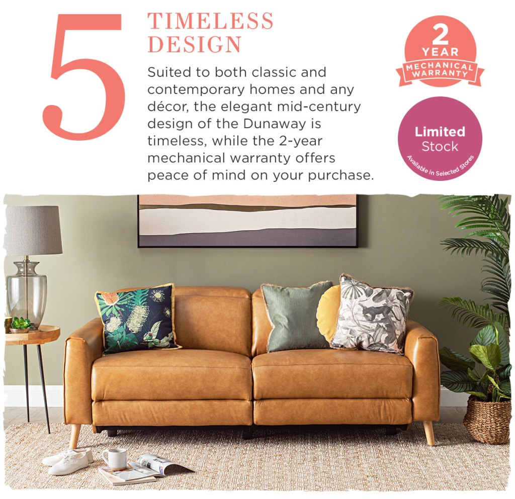 Meet the Dunaway sofa 2 seater