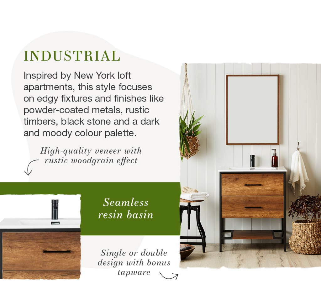 What's Your Style: Bathrooms industrial