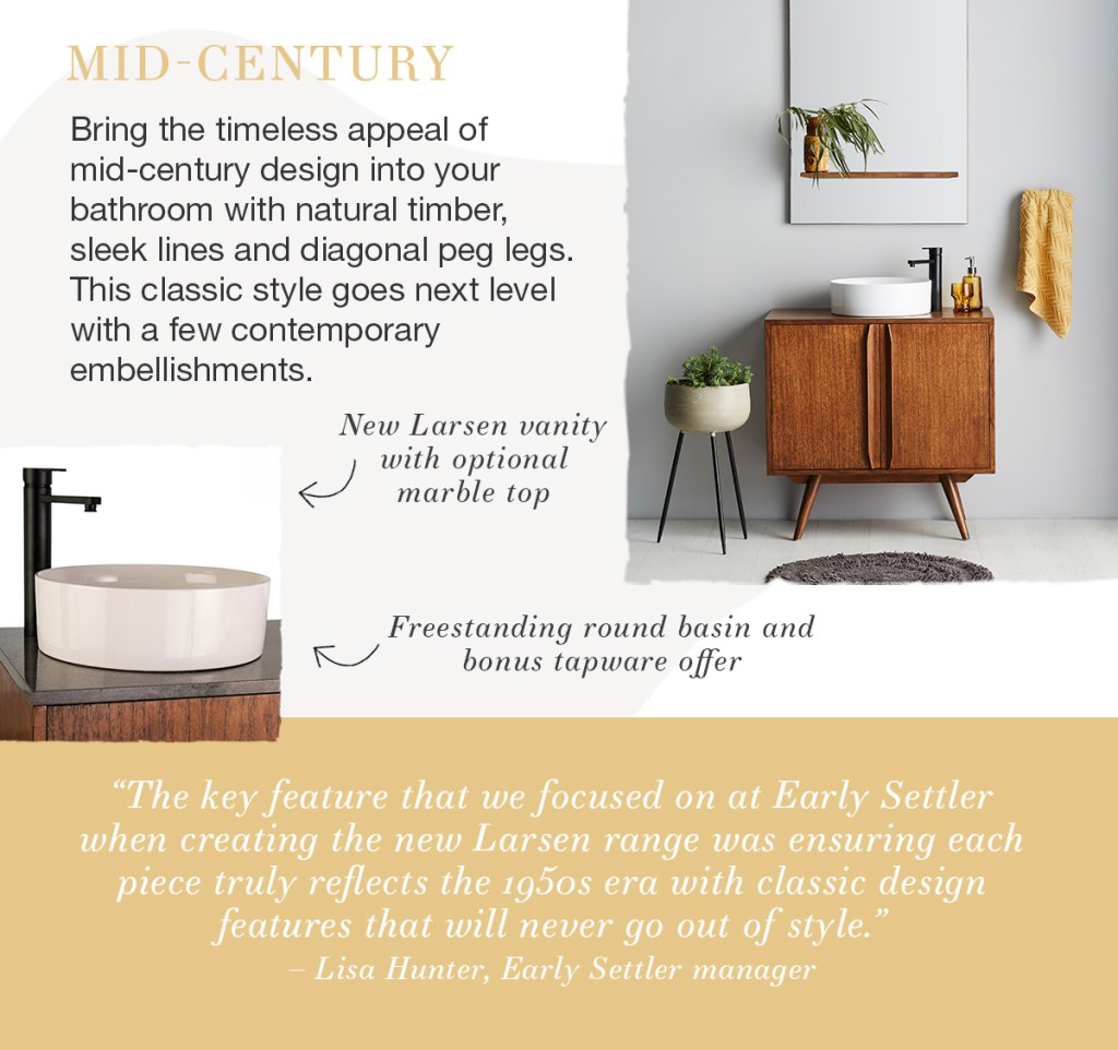 What's Your Style: Bathrooms mid-century