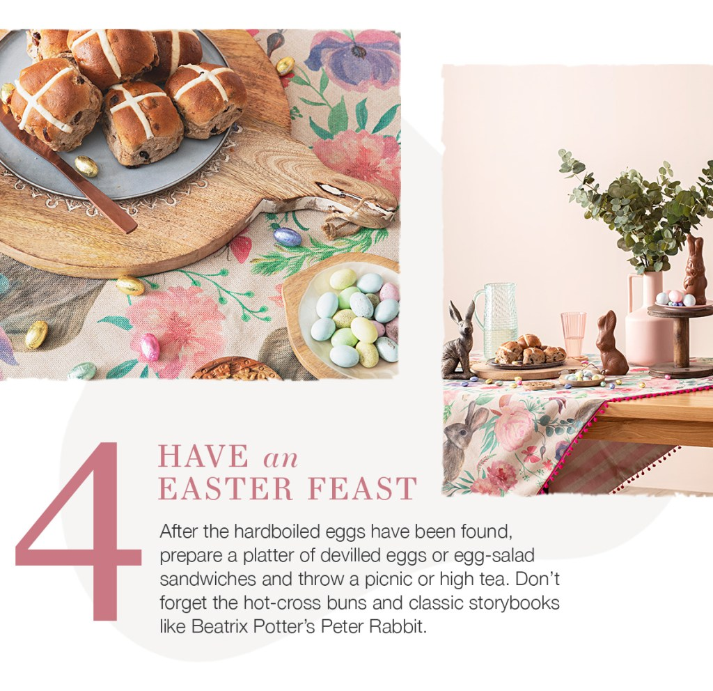5 Ideas for Easter Fun have an easter feast