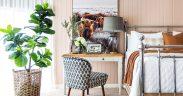 Bedroom Office Decorating Ideas - hero