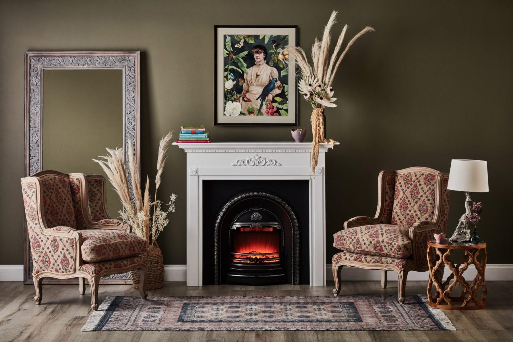 How to install a fireplace - package
