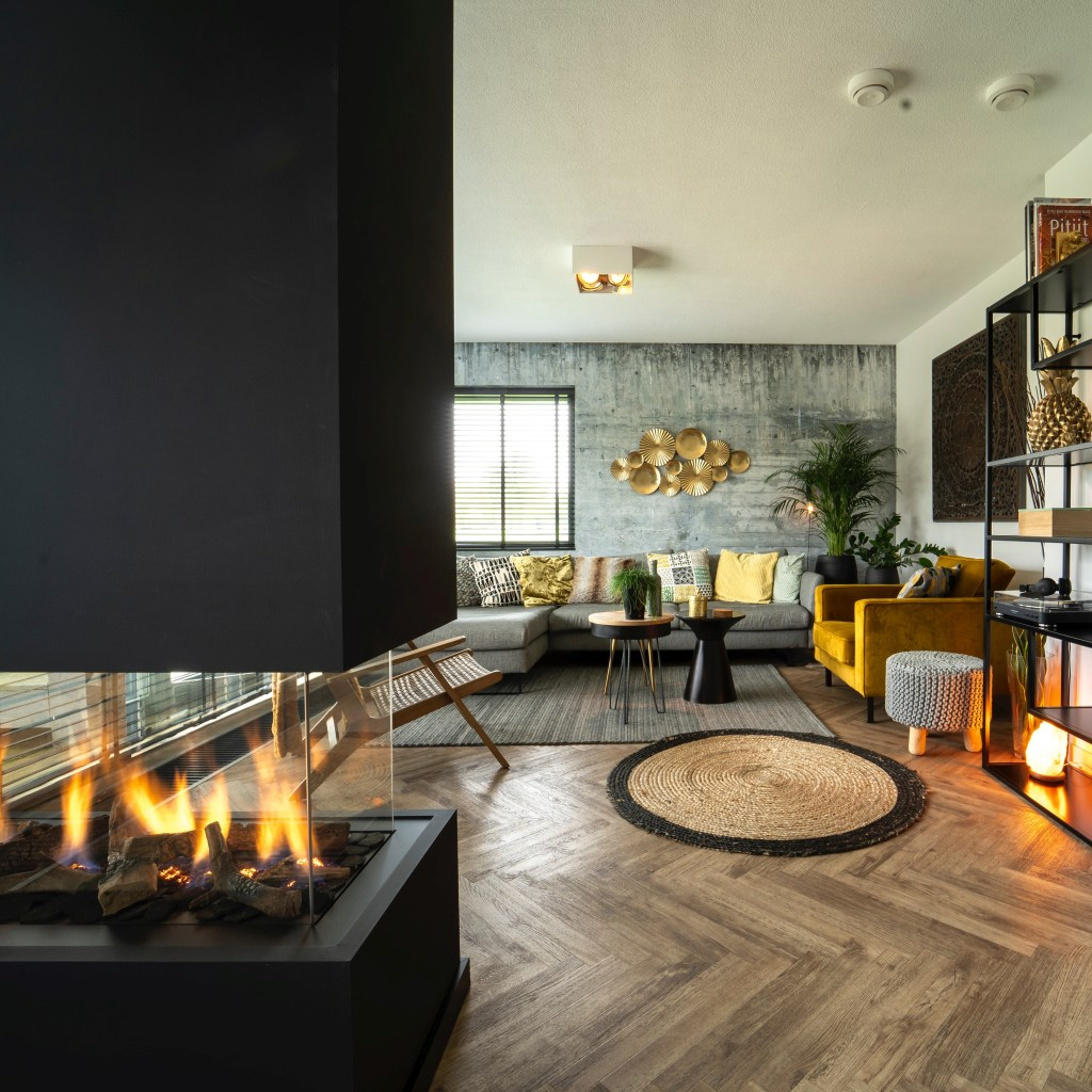 Find the perfect fireplace - gas fire