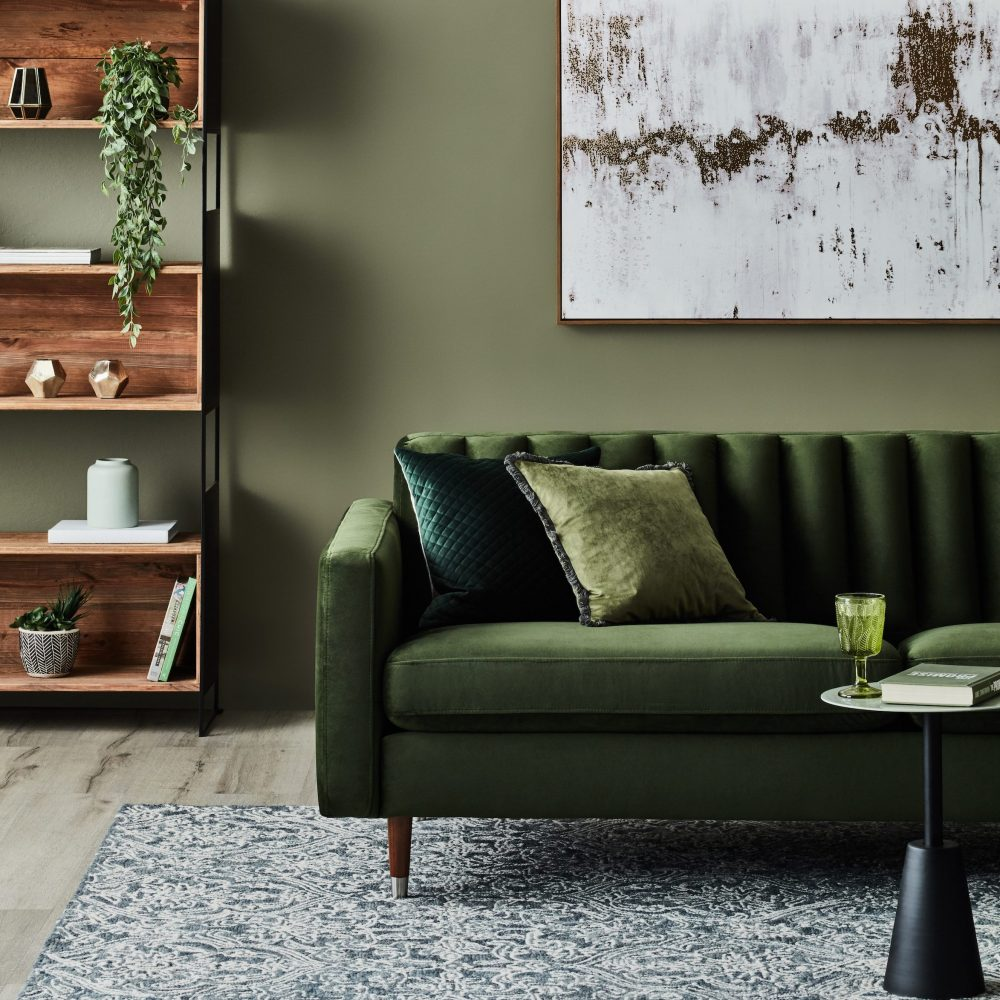 Earth Tones for a Harmonious Home - olive