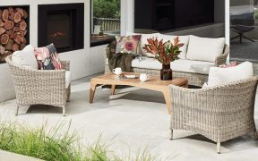 Comfortable Outdoor Furniture Uniting Indoors & Out