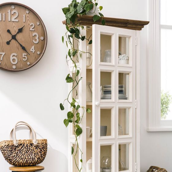 6 Savvy Storage Solutions with a display cabinet