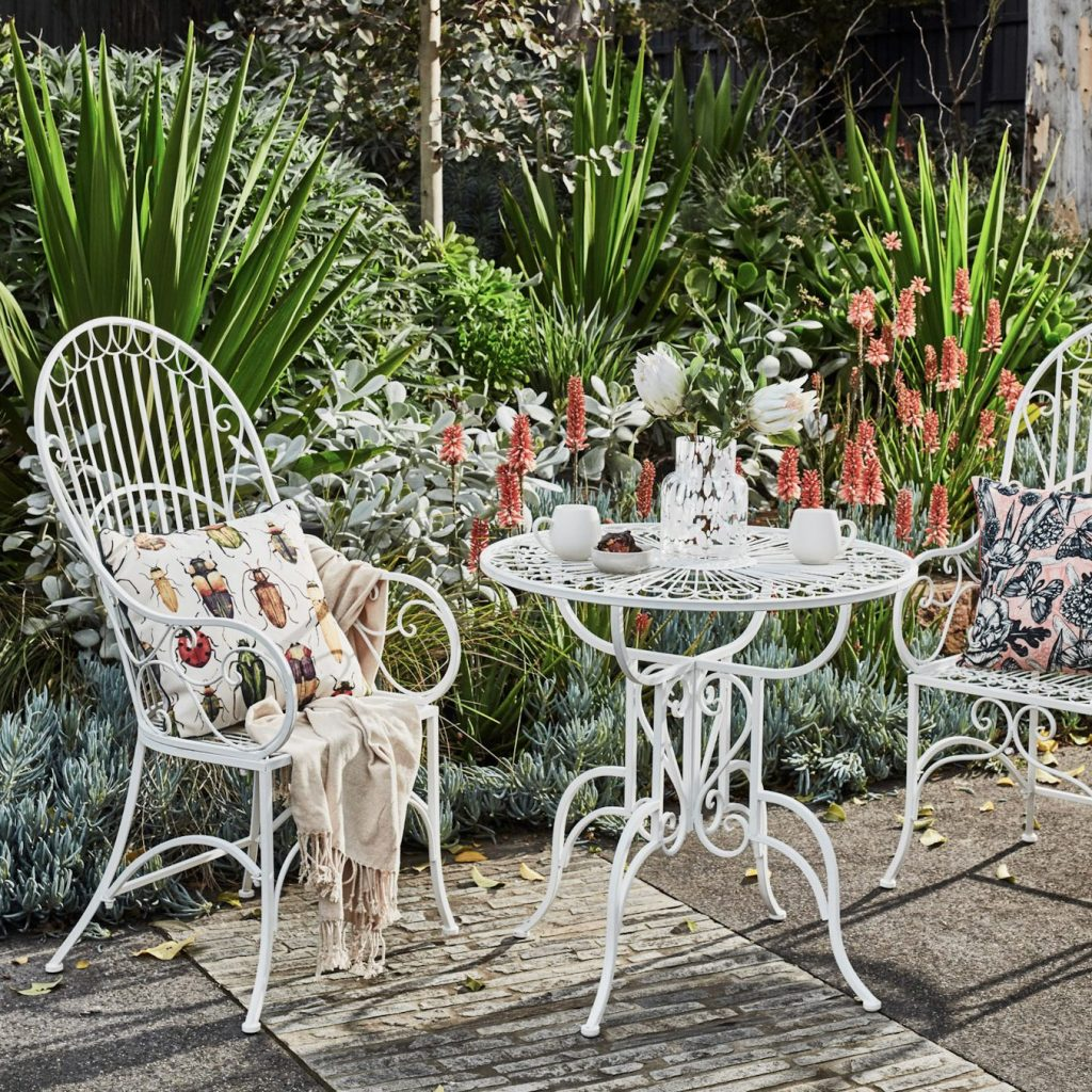 Turn Your Petite Patio into a Parisian Courtyard with a bistro set
