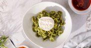 Green Orecchiette Pasta Salad by Chef Laura Sharrad