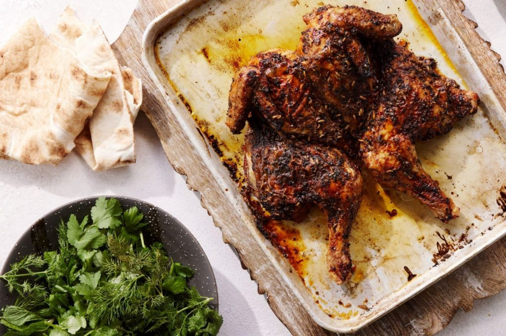 Spiced Chargrilled Chicken Recipe by Chef Laura Sharrad