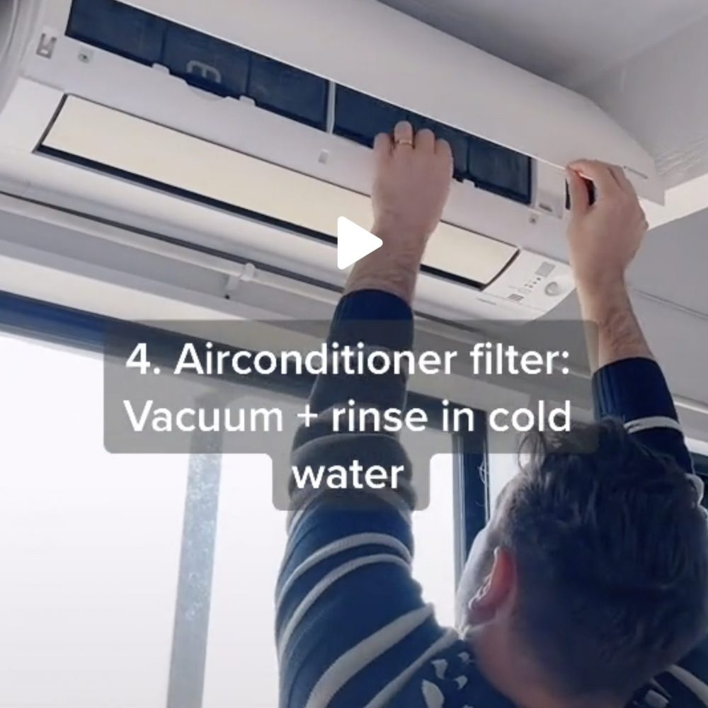 10 Ways to Clean the Air in Your Home change filters