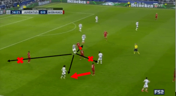Bayern counter-pressing.