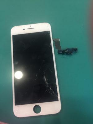 iPhone6,修理,画面,ガラス,ディスプレイ,割れ,近接センサー,インカメラ,不具合