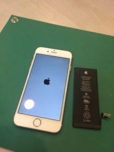 iPhone6,バッテリー交換,千葉県,船橋市,芝山