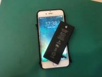 津田沼からiPhone6のバッテリー交換修理の依頼