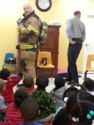 Community Helper - Firefighter Visit