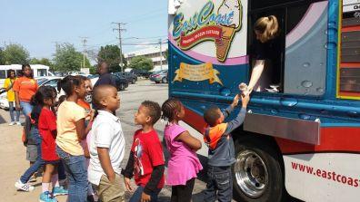 Ice Cream Truck Visit!