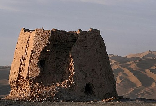Dunhuang watchtower