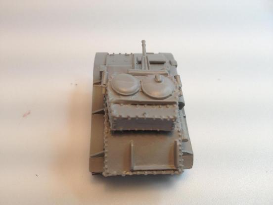 British Vickers mark VI C light tank 15mm anti-tank gun & .303