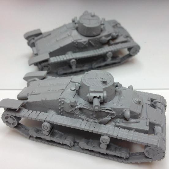 1 x Matilda Mark1 tank