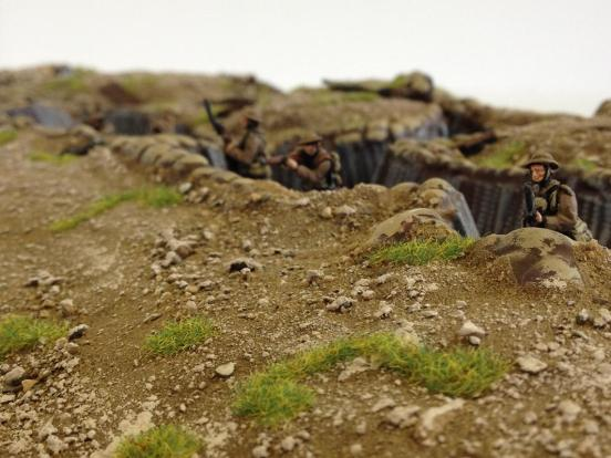 Linked Trench #2, standard version painted
