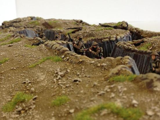 Linked Trench #1, standard but painted,