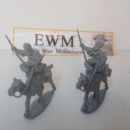 2 x Camel Mounted tribal warriors.