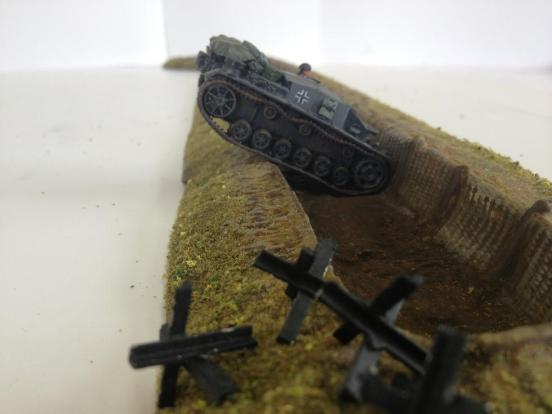 Anti-Tank Ditch straights and turns additions.