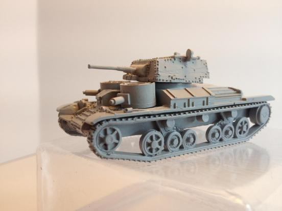 British A9 Cruiser tank in rapid build format
