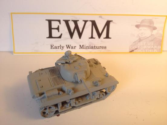 "M22 light tank or ""Locast"" airbourne tank. EWM 2 minute build"