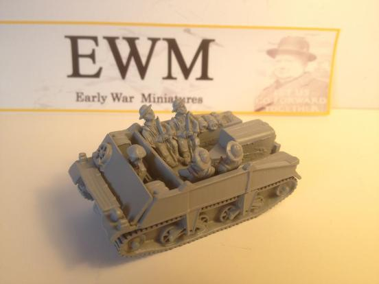"Loyd carrier ""early pattern"" personel  with driver + 4 infantry"