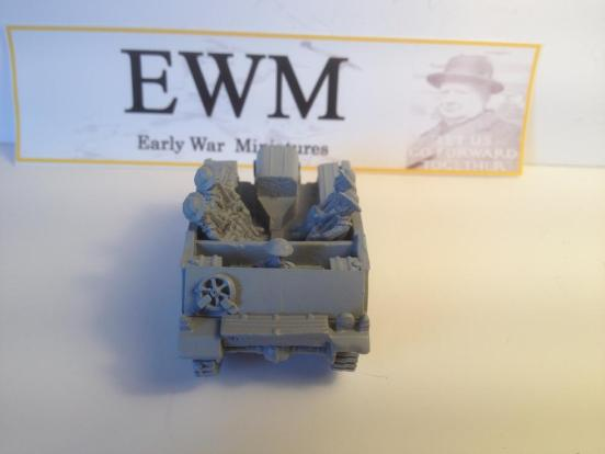 """Loyd carrier """"early pattern"""" personel  with driver + 4 infantry"""