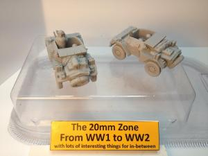 2 x Damiler dingo scout cars each with 2 x crew set A